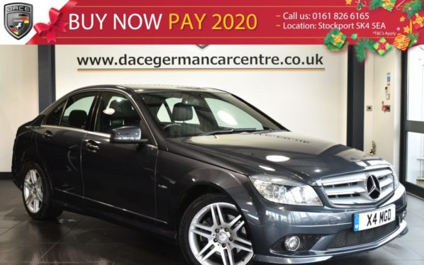 Used 2011 GREY MERCEDES-BENZ C CLASS Saloon 2.1 C220 CDI BLUEEFFICIENCY SPORT 4DR AUTO 170 BHP full service history (reg. 2011-04-06) for sale in Bolton