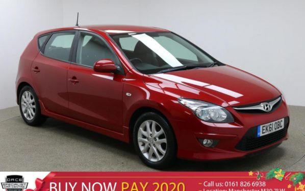 Used 2011 RED HYUNDAI I30 Hatchback 1.4 COMFORT 5d 108 BHP (reg. 2011-09-28) for sale in Manchester