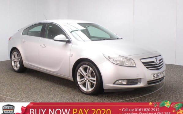 Used 2011 SILVER VAUXHALL INSIGNIA Hatchback 2.0 SRI CDTI 5DR 158 BHP (reg. 2011-09-01) for sale in Stockport