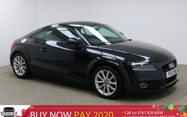 Used 2012 BLACK AUDI TT Coupe 2.0 TDI QUATTRO SPORT 2d 170 BHP (reg. 2012-03-09) for sale in Manchester