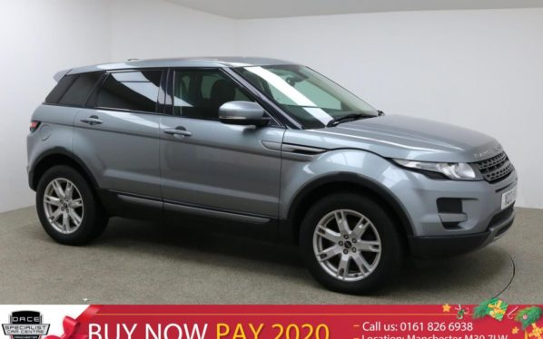 Used 2012 GREY LAND ROVER RANGE ROVER EVOQUE Estate 2.2 TD4 PURE 5d 150 BHP (reg. 2012-06-23) for sale in Manchester