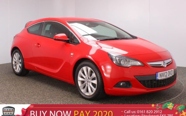 Used 2012 RED VAUXHALL ASTRA GTC Hatchback 2.0 GTC SRI CDTI S/S 3DR 162 BHP (reg. 2012-06-25) for sale in Stockport