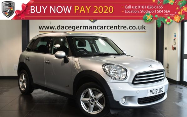 Used 2012 SILVER MINI COUNTRYMAN Hatchback 1.6 COOPER D ALL4 5DR 112 BHP full service history (reg. 2012-03-01) for sale in Bolton