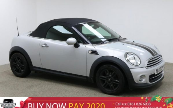 Used 2012 SILVER MINI ROADSTER Convertible 1.6 COOPER 2d 120 BHP (reg. 2012-10-12) for sale in Manchester