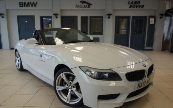 Used 2012 WHITE BMW Z4 Convertible 2.0 Z4 SDRIVE20I M SPORT ROADSTER 2d 181 BHP (reg. 2012-04-30) for sale in Hazel Grove