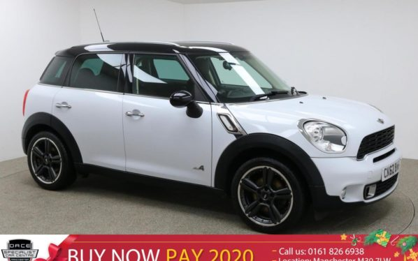 Used 2012 WHITE MINI COUNTRYMAN Hatchback 1.6 COOPER S ALL4 5d 184 BHP (reg. 2012-09-27) for sale in Manchester