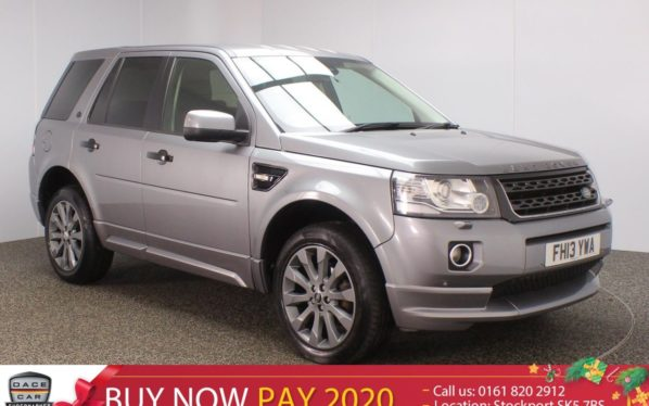 Used 2013 GREY LAND ROVER FREELANDER Estate 2.2 SD4 DYNAMIC 5DR AUTO 190 BHP (reg. 2013-07-17) for sale in Stockport