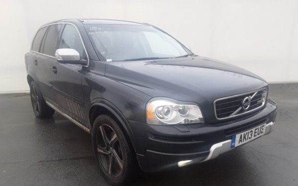 Used 2013 GREY VOLVO XC90 Estate 2.4 D5 R-DESIGN NAV AWD 5DR AUTO 200 BHP (reg. 2013-05-14) for sale in Stockport