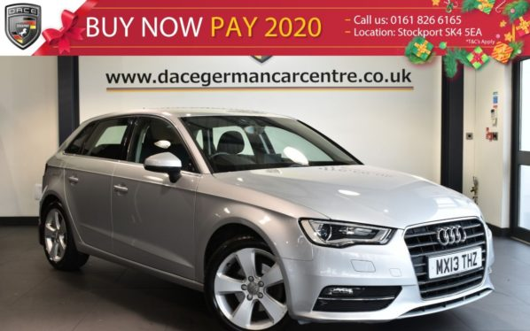 Used 2013 SILVER AUDI A3 Hatchback 1.4 TFSI SPORT 5DR 121 BHP full service history (reg. 2013-03-16) for sale in Bolton