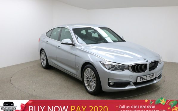 Used 2013 SILVER BMW 3 SERIES GRAN TURISMO Hatchback 2.0 320D LUXURY GRAN TURISMO 5d AUTO 181 BHP (reg. 2013-05-31) for sale in Manchester