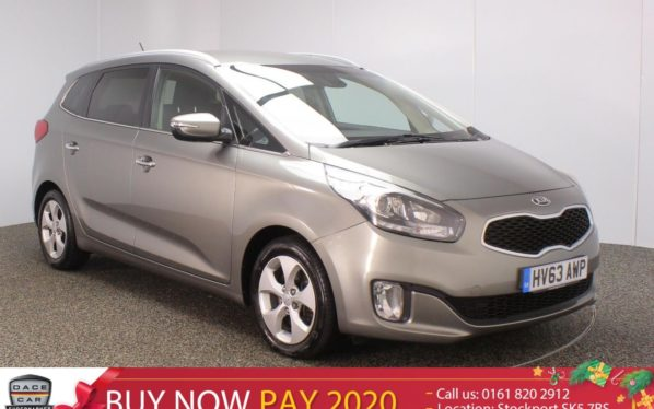 Used 2013 SILVER KIA CARENS MPV 1.7 2 ECODYNAMICS CRDI 5DR 7 SEATS (reg. 2013-11-24) for sale in Stockport
