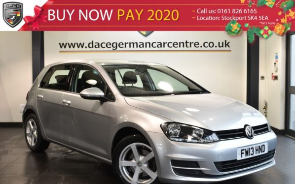 Used 2013 SILVER VOLKSWAGEN GOLF Hatchback 1.6 S TDI BLUEMOTION TECHNOLOGY 5DR 103 BHP full vw service history (reg. 2013-08-08) for sale in Bolton