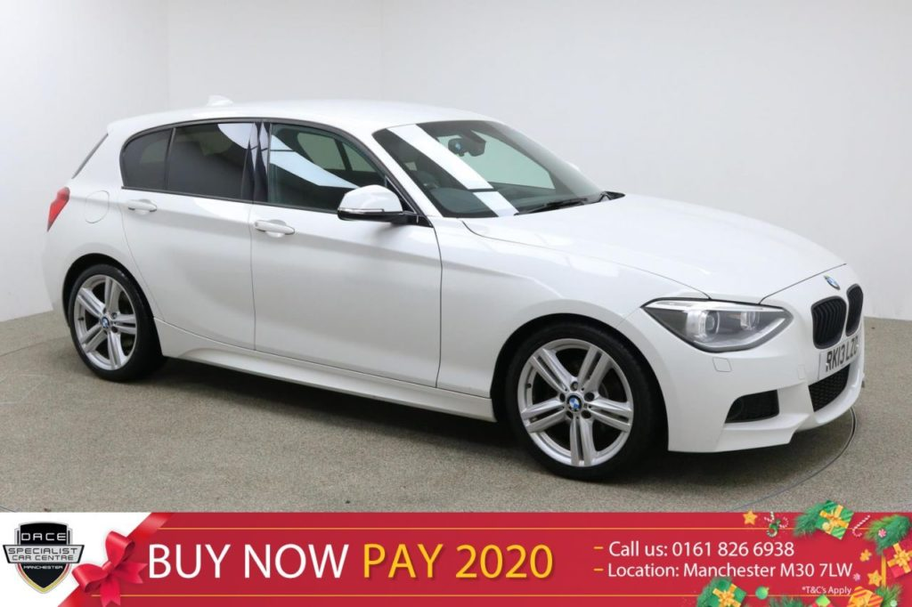 Used 2013 WHITE BMW 1 SERIES Hatchback 1.6 118I M SPORT 5d AUTO 168 BHP (reg. 2013-03-01) for sale in Manchester