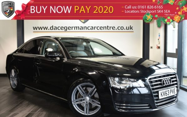 Used 2014 BLACK AUDI A8 Saloon 3.0 TDI SE 4DR AUTO 201 BHP excellent service history (reg. 2014-09-20) for sale in Bolton