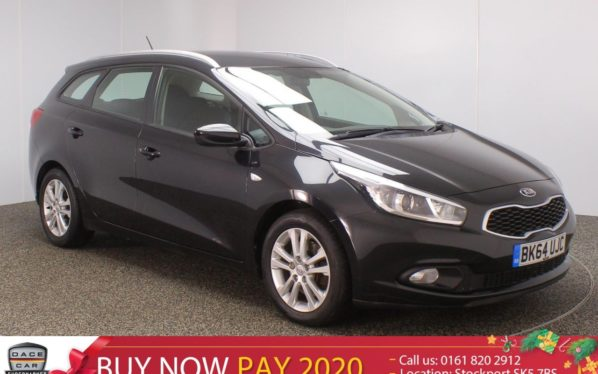 Used 2014 BLACK KIA CEED Estate 1.4 VR7 5DR 98 BHP (reg. 2014-09-30) for sale in Stockport