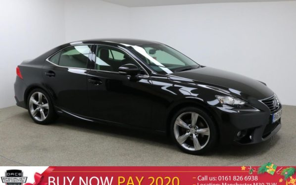 Used 2014 BLACK LEXUS IS 300H Saloon 2.5 300H PREMIER 4d AUTO 220 BHP (reg. 2014-09-30) for sale in Manchester