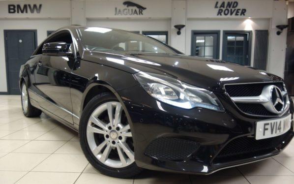 Used 2014 BLACK MERCEDES-BENZ E CLASS Coupe 2.1 E220 CDI SE 2d AUTO 170 BHP (reg. 2014-07-11) for sale in Hazel Grove