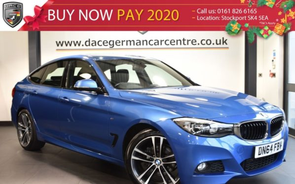 Used 2014 BLUE BMW 3 SERIES GRAN TURISMO Hatchback 2.0 320D M SPORT 5DR 181 BHP full bmw service history (reg. 2014-10-27) for sale in Bolton