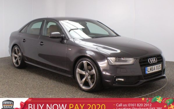 Used 2014 GREY AUDI A4 Saloon 2.0 TDI BLACK EDITION START/STOP 4DR AUTO SAT NAV 1 OWNER 148 BHP (reg. 2014-11-13) for sale in Stockport