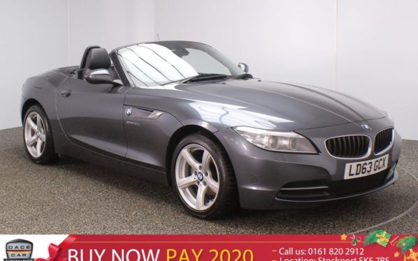 Used 2014 GREY BMW Z4 Convertible 2.0 Z4 SDRIVE20I ROADSTER 2DR 181 BHP (reg. 2014-11-20) for sale in Stockport