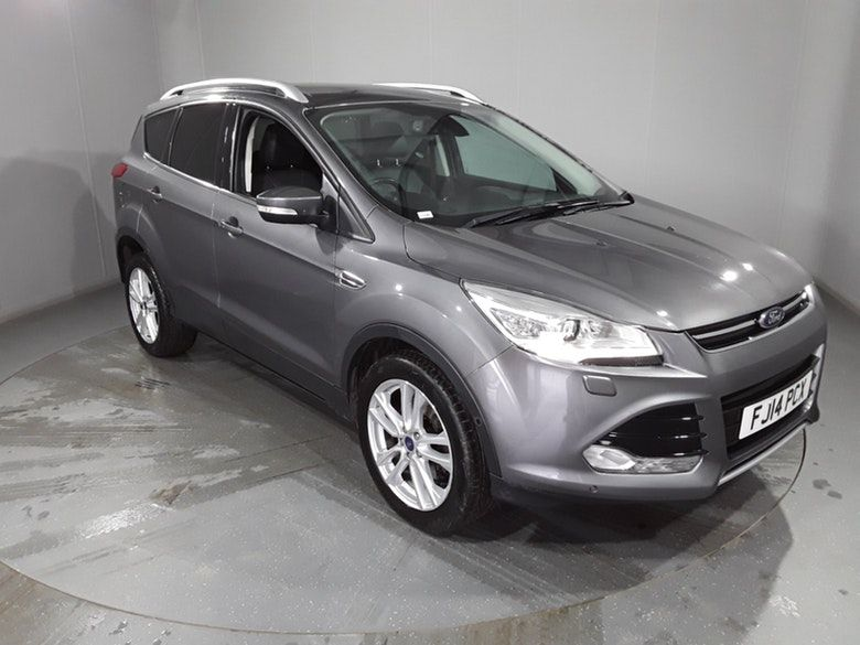 Used 2014 GREY FORD KUGA Hatchback 2.0 TITANIUM X TDCI 5d AUTO 160 BHP (reg. 2014-03-10) for sale in Manchester