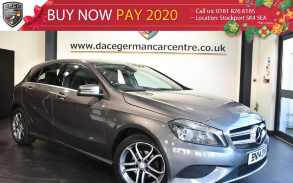 Used 2014 GREY MERCEDES-BENZ A CLASS Hatchback 1.5 A180 CDI BLUEEFFICIENCY SPORT 5DR 109 BHP full service history (reg. 2014-03-17) for sale in Bolton