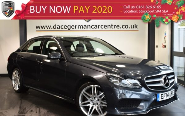 Used 2014 GREY MERCEDES-BENZ E CLASS Saloon 2.1 E250 CDI AMG SPORT 4DR AUTO 202 BHP full mercedes service history (reg. 2014-06-30) for sale in Bolton