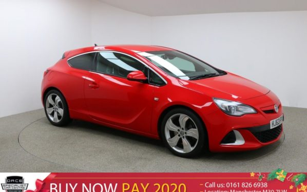 Used 2014 RED VAUXHALL ASTRA Hatchback 2.0 VXR 3d 276 BHP (reg. 2014-10-31) for sale in Manchester