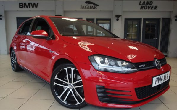 Used 2014 RED VOLKSWAGEN GOLF Hatchback 2.0 GTD DSG 5d AUTO 182 BHP (reg. 2014-04-09) for sale in Hazel Grove