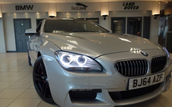 Used 2014 SILVER BMW 6 SERIES Coupe 3.0 640D M SPORT 2d AUTO 309 BHP (reg. 2014-12-12) for sale in Hazel Grove