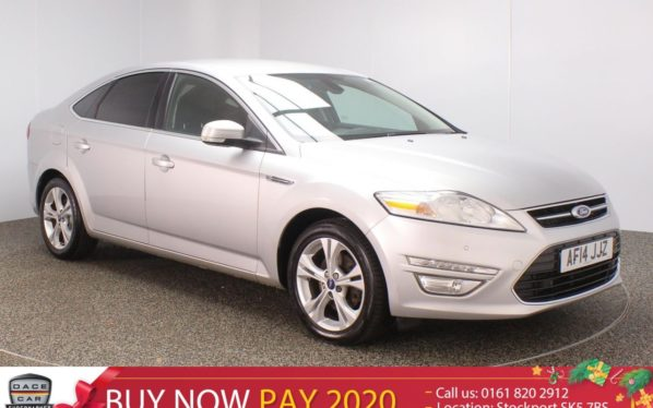 Used 2014 SILVER FORD MONDEO Hatchback 1.6 TITANIUM X BUSINESS EDITION TDCI START/STOP 5DR 114 BHP (reg. 2014-03-12) for sale in Stockport
