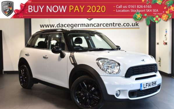 Used 2014 WHITE MINI COUNTRYMAN Hatchback 2.0 COOPER SD 5DR 141 BHP full service history (reg. 2014-03-07) for sale in Bolton
