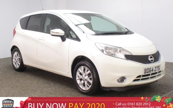 Used 2014 WHITE NISSAN NOTE MPV 1.2 ACENTA 5DR 80 BHP (reg. 2014-11-28) for sale in Stockport