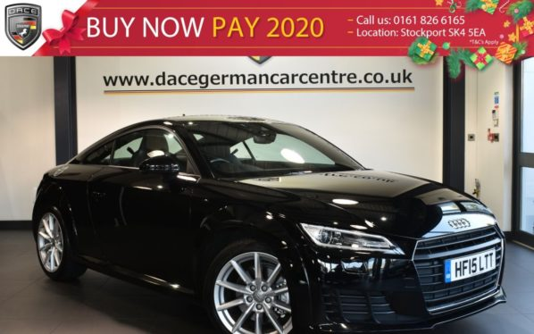 Used 2015 BLACK AUDI TT Coupe 2.0 TFSI SPORT 2DR 227 BHP full service history (reg. 2015-03-04) for sale in Bolton