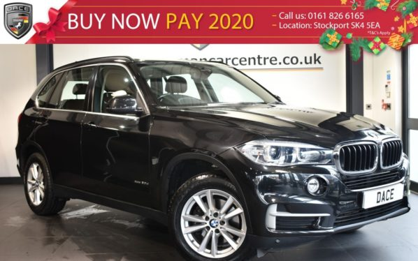 Used 2015 BLACK BMW X5 Estate 3.0 XDRIVE30D SE 5DR 7 SEATS AUTO 255 BHP full service history (reg. 2015-03-27) for sale in Bolton