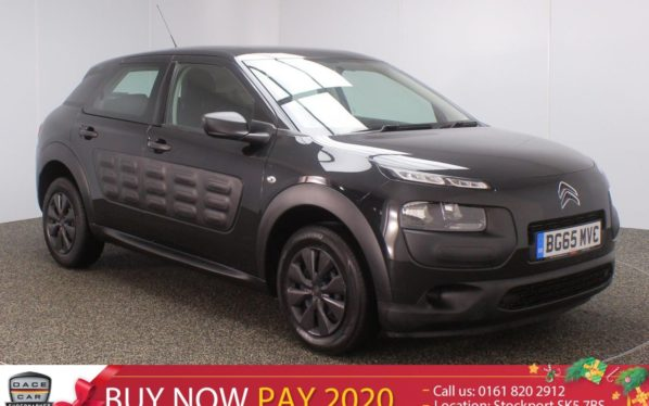 Used 2015 BLACK CITROEN C4 CACTUS Hatchback 1.2 PURETECH TOUCH 5DR 74 BHP (reg. 2015-10-14) for sale in Stockport