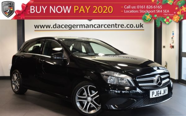 Used 2015 BLACK MERCEDES-BENZ A CLASS Hatchback 2.1 A200 CDI SPORT 5DR 136 BHP full mercedes service history (reg. 2015-01-12) for sale in Bolton