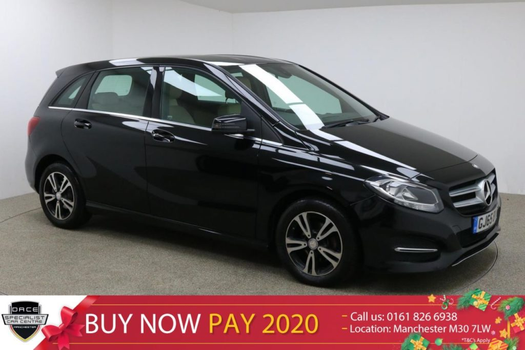 Used 2015 BLACK MERCEDES-BENZ B CLASS MPV 1.5 B 180 D SE 5d 107 BHP (reg. 2015-10-30) for sale in Manchester