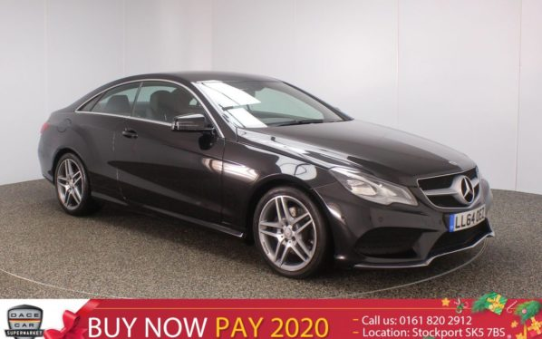 Used 2015 BLACK MERCEDES-BENZ E CLASS Coupe 2.1 E250 CDI AMG SPORT 2DR 1 OWNER 204 BHP (reg. 2015-01-02) for sale in Stockport