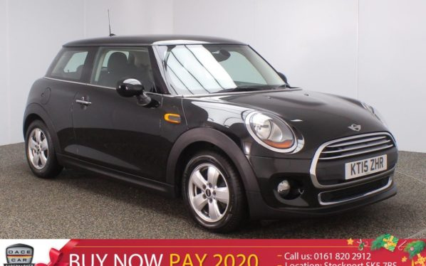 Used 2015 BLACK MINI HATCH ONE Hatchback 1.5 ONE D PEPPER PACK 3DR 94 BHP (reg. 2015-06-16) for sale in Stockport