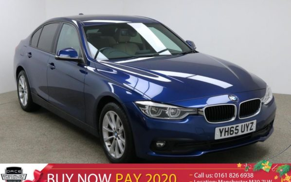 Used 2015 BLUE BMW 3 SERIES Saloon 2.0 318D SE 4d 148 BHP (reg. 2015-09-21) for sale in Manchester