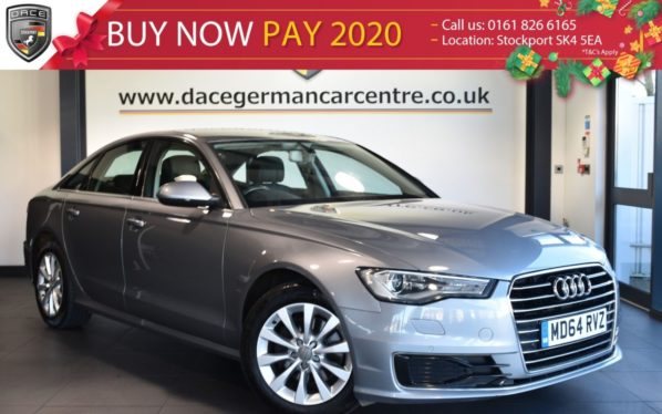 Used 2015 GREY AUDI A6 Saloon 2.0 TDI ULTRA SE 4DR AUTO 188 BHP full service history (reg. 2015-01-30) for sale in Bolton