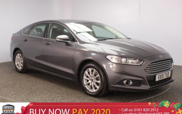 Used 2015 GREY FORD MONDEO Hatchback 2.0 ZETEC ECONETIC TDCI 5DR 1 OWNER 148 BHP (reg. 2015-04-08) for sale in Stockport