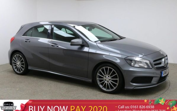 Used 2015 GREY MERCEDES-BENZ A CLASS Hatchback 1.5 A180 CDI BLUEEFFICIENCY AMG SPORT 5d 109 BHP (reg. 2015-09-25) for sale in Manchester