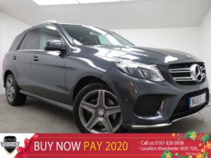Used 2015 GREY MERCEDES-BENZ GLE-CLASS Estate 2.1 GLE 250 D 4MATIC AMG LINE 5d 201 BHP (reg. 2015-12-18) for sale in Manchester