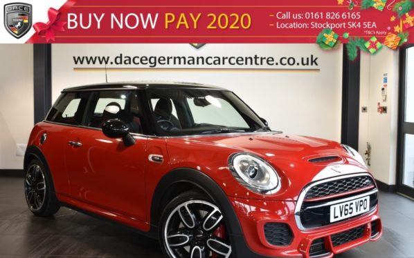 Used 2015 RED MINI HATCH JOHN COOPER WORKS Hatchback 2.0 JOHN COOPER WORKS 3DR AUTO 228 BHP full service history (reg. 2015-11-10) for sale in Bolton