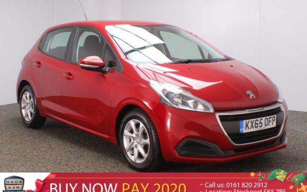 Used 2015 RED PEUGEOT 208 Hatchback 1.6 BLUE HDI ACTIVE 5DR 75 BHP (reg. 2015-09-22) for sale in Stockport
