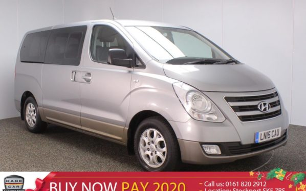 Used 2015 SILVER HYUNDAI I800 MPV 2.5 STYLE CRDI 5DR 8 SEATS AUTOMATIC (reg. 2015-03-02) for sale in Stockport