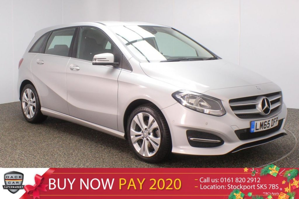 Used 2015 SILVER MERCEDES-BENZ B CLASS MPV 2.1 B 200 D SPORT EXECUTIVE 5DR AUTO 134 BHP (reg. 2015-10-27) for sale in Stockport