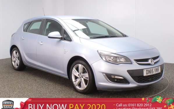 Used 2015 SILVER VAUXHALL ASTRA Hatchback 1.6 SRI 5DR 113 BHP (reg. 2015-06-30) for sale in Stockport